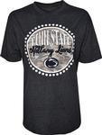 Penn State Women's Melange Curly Camo T-Shirt NAVY