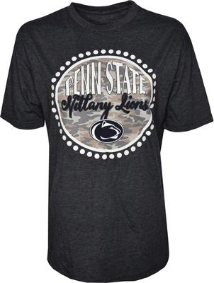 Press Box - Penn State Women's Melange Curly Camo T-Shirt
