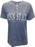 Penn State Women's Mineral Wash Henley T- Shirt