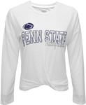 Penn State Women's Bonafide Long Sleeve Shirt WHITE