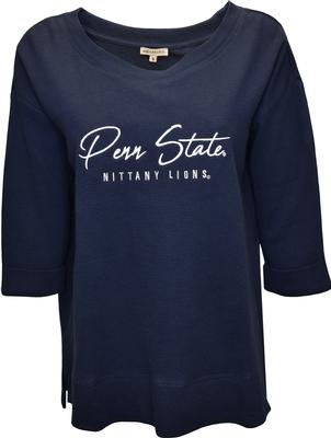 University Girls - Penn State Women's Waffle Long Sleeve Shirt