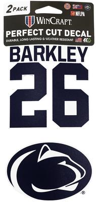 Wincraft - Penn State Saquon Barkley 2-Pack Decal