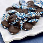 Nibbles and Bits Dark Chocolate 8 Oz. Nonpareils