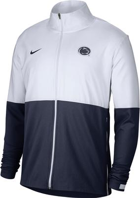 NIKE - Penn State Nike Men's Woven Full Zip Sideline Jacket