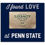 Penn State I Found Love Picture Frame