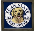 Penn State Framed Dog Wall Art