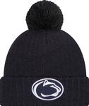 Penn State New Era Breeze Knit Hat NAVY