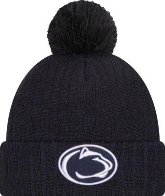 New Era Caps - Penn State New Era Breeze Knit Hat