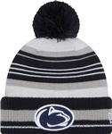 Penn State New Era Grayed Knit Hat GREYNAVY