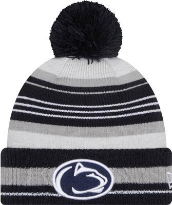 New Era Caps - Penn State New Era Grayed Knit Hat