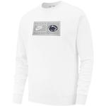 Penn State Men's Nike Tag Crewneck Sweatshirt WHITE