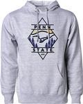 Penn State Uscape Mountain Diamond Hooded Sweatshirt HEATHER GREY