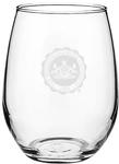 Penn State Stem Less Seal Wine Glass