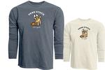 Penn State Life is Good Football Dog Long Sleeve T-Shirt NAVY