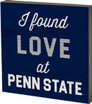 Penn State Love Table Top Square