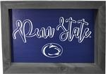 Penn State Framed Wood Art