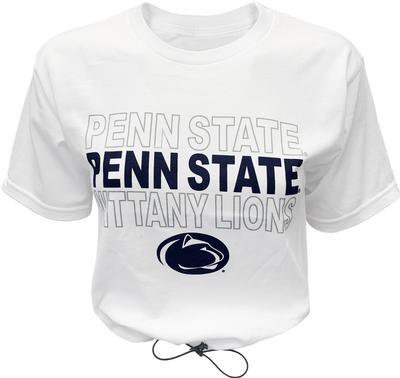 Blue 84 - Penn State Women's Toggle Bottom Cropped T-Shirt