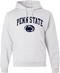 Penn State Arch Logo Hooded Sweatshirt ASH