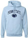 Penn State Arch Logo Hooded Sweatshirt LBLU
