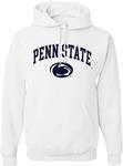 Penn State Arch Logo Hooded Sweatshirt WHITE