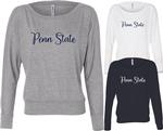Penn State Women's Cute Script Long Sleeve Shirt