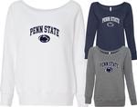 Penn State Women's Sponge Arch Logo Fleece Crew Sweatshirt