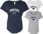 Penn State Women's Relaxed Dolman Arch Logo T-Shirt