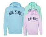Penn State Distressed Arc Hooded Sweatshirt