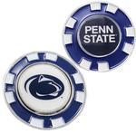 Penn State Poker Chip Golf Marker NAVY