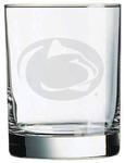 Penn State 14oz Etched Rocks Glass