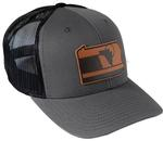 RepresentPA Anthracite Snapback Hat