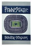 Penn State Beaver Stadium Garden Flag