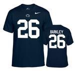 Penn State Nike Saquon Barkley #26 T-shirt NAVY