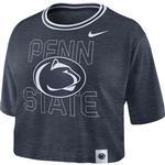 Penn State Nike Women's Slub Crop Top