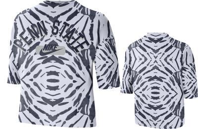 NIKE - Penn State Nike Women's Cropped Festival Shirt