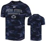 Penn State Under Armour Men's Camo Outline T-shirt