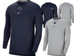 Penn State Nike Men's Sideline UV Coach Long Sleeve T-shirt