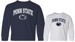 Penn State Youth Arch Logo Long Sleeve Shirt