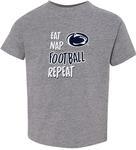 Penn State Toddler Eat Nap Football T-shirt GRAPH