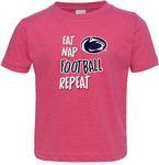 Penn State Toddler Eat Nap Football T-shirt VHP