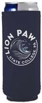 Penn State Slim Lion Paw Can Cooler