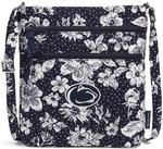 Penn State Vera Bradley Rain Garden Triple Zip Hipster Bag