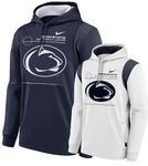 Penn State Nike Men's Therma Sideline Hooded Sweatshirt