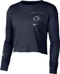 Penn State Nike Women's Cropped Long Sleeve Shirt