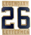 Penn State Legendary Letterman #26 Wooden Magnet