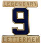 Penn State Legendary Letterman #9 Wooden Magnet