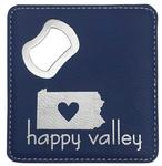 Penn State Happy Valley Coaster and Bottle Opener