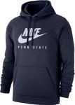 Penn State Nike Men's Club Fleece NXN Hooded Sweatshirt