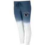 Penn State Women's Dip-Dye Jogger Sweatpants NAVYWHITE