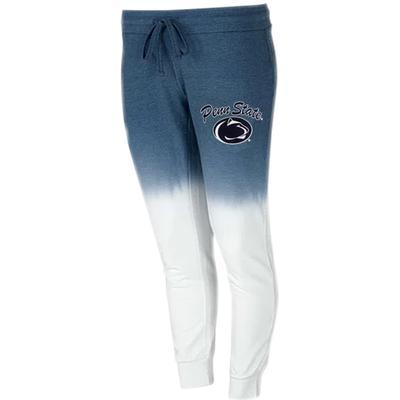 Concepts Sport - Penn State Women's Dip-Dye Jogger Sweatpants